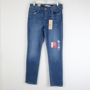 Levi's Mid Rise Skinny Jeans 12 NWT